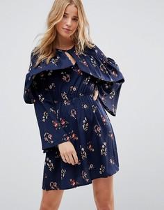 Платье с цветочным принтом Influence - Мульти