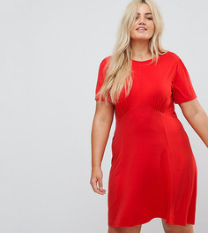 Чайное платье мини ASOS CURVE Ultimate - Красный