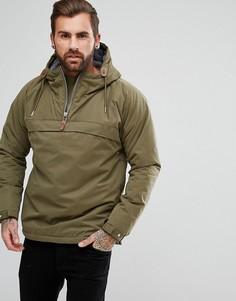 Куртка анорак с молнией Fat Moose - Зеленый