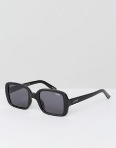 Квадратные очки в стиле 20-х Quay Australia X Kylie Jenner - Черный