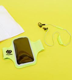 Подарочный набор с беспроводными наушниками и браслетом на предплечье Urbanista - Мульти