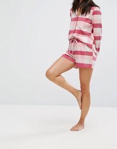 Пижамные шорты в клетку Vero Moda - Мульти