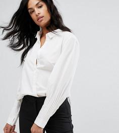 Рубашка с объемными рукавами Vero Moda Tall - Белый