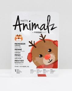 Маска-салфетка Pretty Animalz Reindeer - Бесцветный Masque Bar