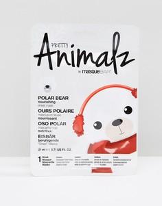 Маска-салфетка Pretty Animalz Polar Bear - Бесцветный Masque Bar