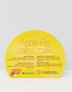 Листовая маска с ароматом яблочного пирога iN.gredients - Бесцветный Masque Bar