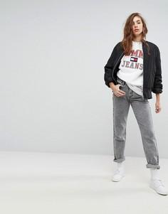 Выбеленные джинсы в винтажном стиле 90-х Tommy Jeans Capsule - Серый