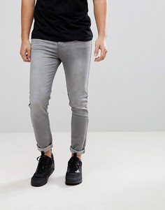 Серые джинсы скинни boohooMAN - Серый