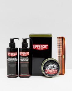 Подарочный набор с помадой для волос Uppercut Deluxe - Бесцветный
