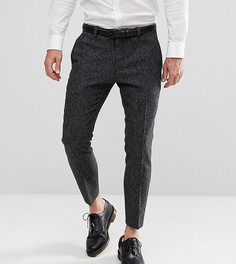 Укороченные брюки скинни с шевронным узором Heart & Dagger - Серый