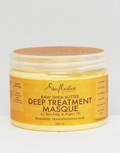 Укрепляющая маска для волос с маслом ши Shea Moisture - Бесцветный
