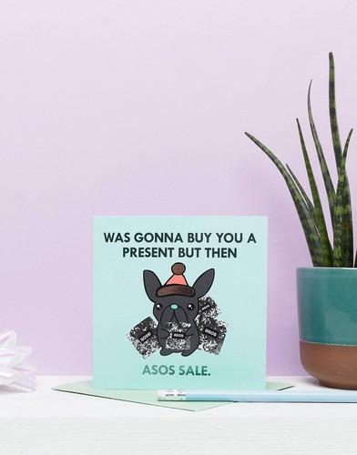 Новогодняя открытка Jolly Awesome эксклюзивно для ASOS - Мульти
