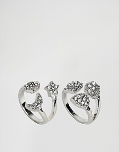 2 кольца New Look - Серебряный