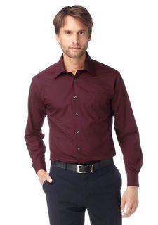 Однотонная рубашка STUDIO COLETTI