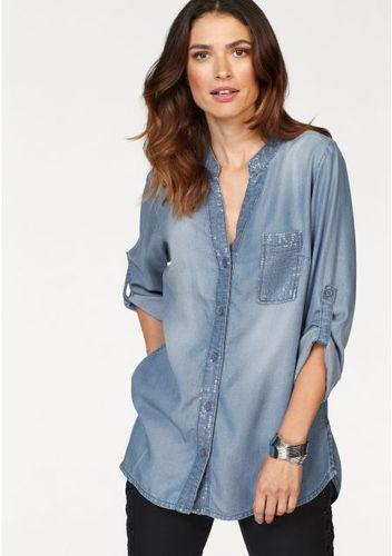 Джинсовая блузка Laura Scott