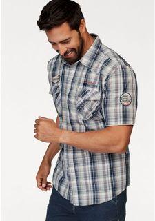 Рубашка с короткими рукавами MANS WORLD