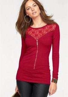 Удлиненный пуловер MELROSE