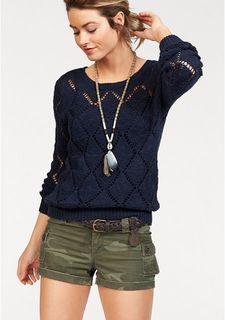 Ажурный пуловер AJC