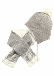 Комплект: шапка + шарф KLITZEKLEIN