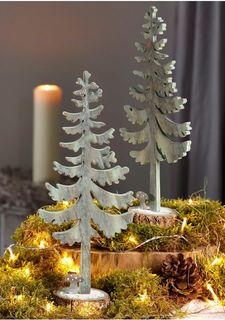 Декоративная елка, 2 штуки