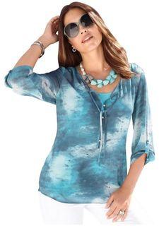 Комплект: блузка и топ
