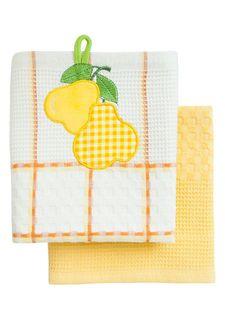 Набор вафельных полотенец (2 шт.) BONITA