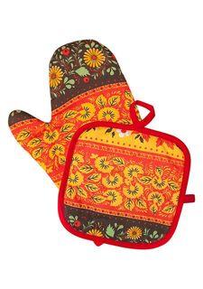 Набор рукавица + прихватка BONITA