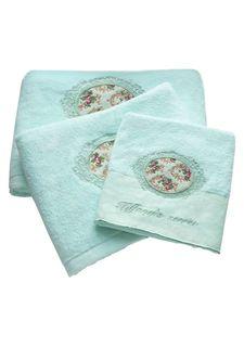Набор махровых полотенец (3 шт.) Tiffanys secret