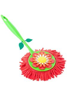 Щетка для удаления пыли с ручкой FLOWER POWER VIGAR