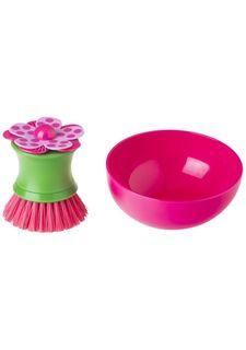 Щетка для мытья посуды на подставке LOLAFLOR VIGAR