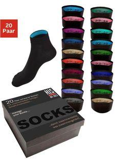 Короткие носки, 20 пар H.I.S.