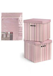 Короб картонный складной в комплекте (2 шт.) ROMANTIC Valiant
