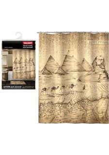 Штора для ванной комнаты EGYPT PYRAMID Valiant