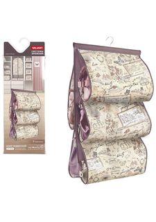 Кофр подвесной для хранения сумок с вешалкой, 5 карманов ROMANTIC Valiant