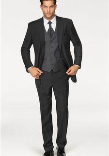 Костюм, 5 частей: пиджак + брюки + жилет + пластрон + карманный платок STUDIO COLETTI