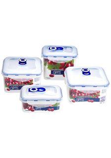 Комплект контейнеров для продуктов, (4 шт) Gipfel