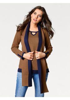 Комплект: пуловер + шарф PATRIZIA DINI by Heine