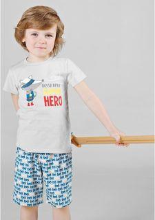 Пижама с шортами BOSSA NOVA