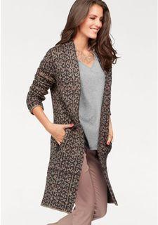 Вязаное пальто Aniston