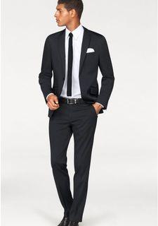 Костюм, 4 части: пиджак + брюки + галстук + платок BRUNO BANANI