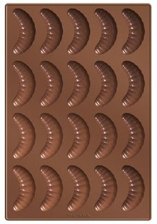 Форма для ванильных рогаликов DELICIA SILICONE tescoma