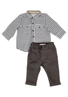 Комплект: сорочка + брюки Babaluno