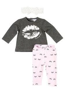 Комплект: джемпер + брюки + чепчик Babaluno