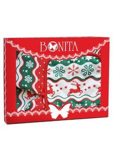 Набор подарочный: полотенце, рукавица и прихватка (3 пр.) BONITA