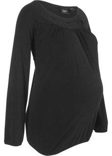 Для будущих мам: футболка (черный) Bonprix
