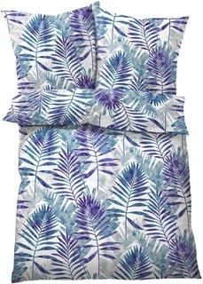 Постельное белье Том, линон (синий) Bonprix
