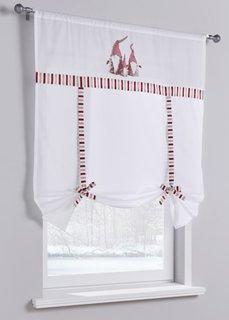 Римская штора Гномик (1 шт.) (белый) Bonprix