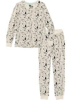 Пижама (бежевый с рисунком) Bonprix