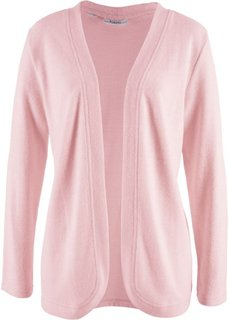 Флисовая куртка (нежно-розовый меланж) Bonprix