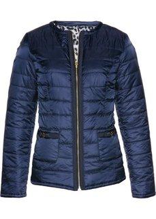 Двухсторонняя куртка (темно-синий/леопардовый с принтом) Bonprix